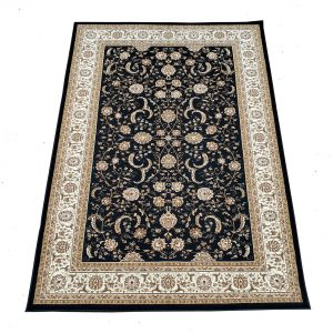 13118 - persian classic - 6617A-black - 5x8