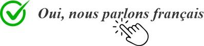 Oui, nous parlons français